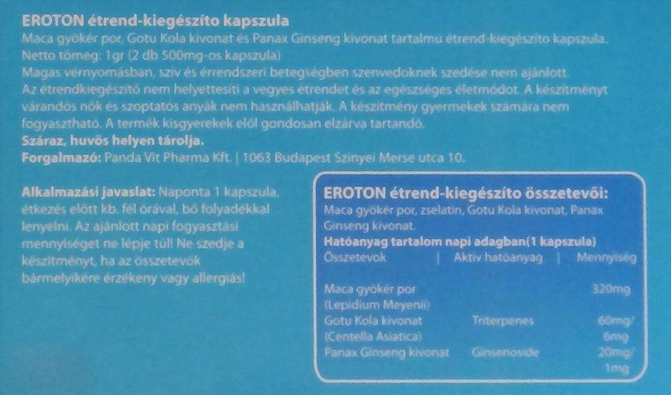 EROTON-hátlap