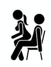 Kámaszutra lovaglás széken